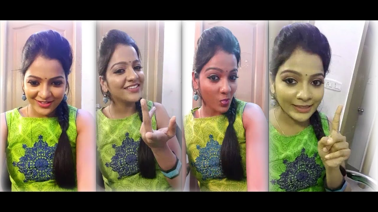 Tamil Cute Girl VJ Chithra _ Live Chat Video_ Tamil Girl