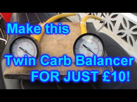 Bob's DIY Carburetor Tuning Kit - Carb Balancing for less than £10
