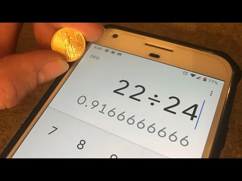 The MATH Behind Calculating Purity Of Gold 24k 22k 18k 14k 12k 10k