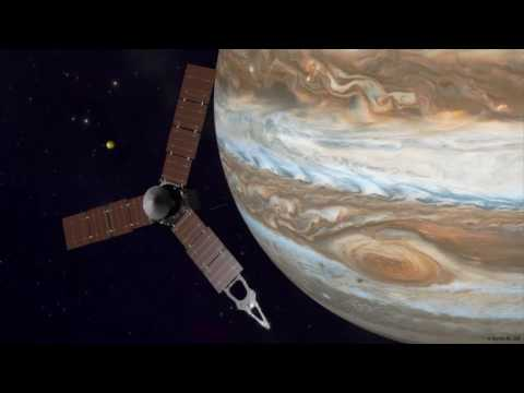 Juno Spacecraft Completes Flyby of Jupiter's Great Red Spot