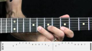 Blues Lick Over the IV Chord Lesson