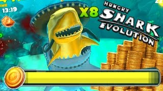 Hungry Shark Evolution | NEW RECORD?! CR...
