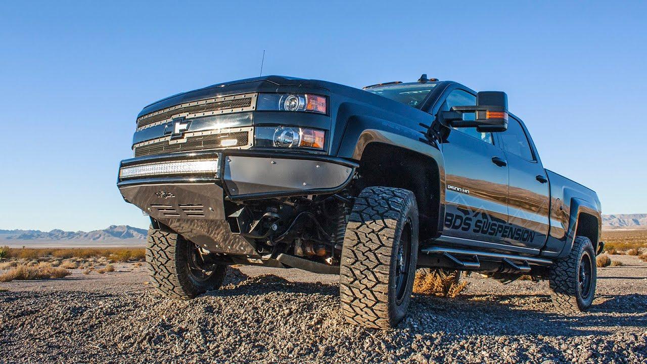 2011 2019 chevy gmc 3 4 ton pickup 4wd 6 5 lift kit 196h bds suspension [ 1280 x 720 Pixel ]