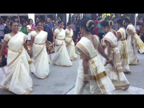 SV Temple of NC 2017 Brahmotsavam- Kolattam Dance
