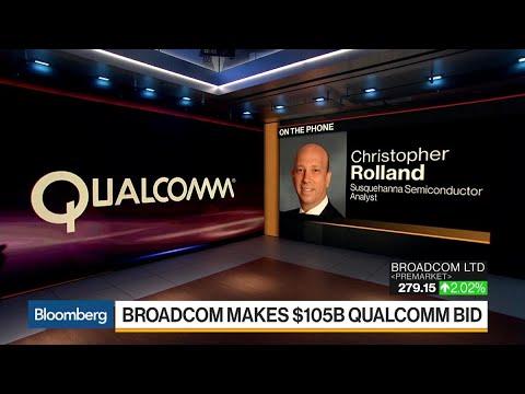 Broadcom Proposes $105 Billion Deal for Qualcomm