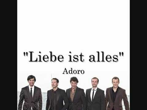 Adoro - Liebe ist alles (Lyrics + English Translation)