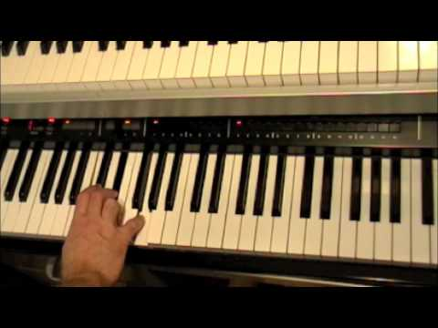 Major Minor And Diminished Chord Fingering For Piano By Michael