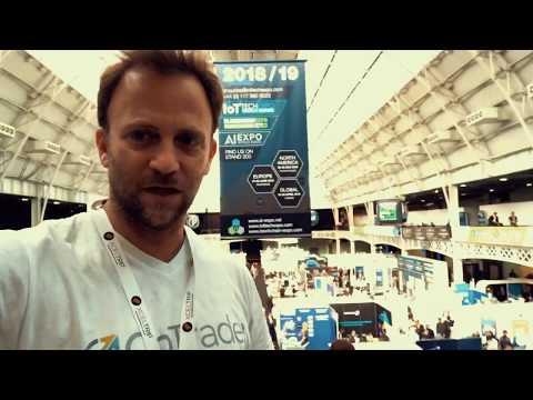 London Blockchain expo Apr 18-19 2018 - CoTrader CEO explains