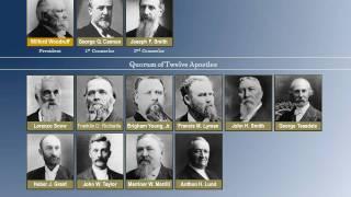 LDS First Presidency & Quorum of Twelve 1830 - 2010
