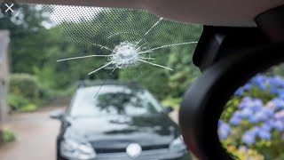 How to repair windshield chip or crack?घर पे गाड़ी का शीशा रिपेयर करे।
