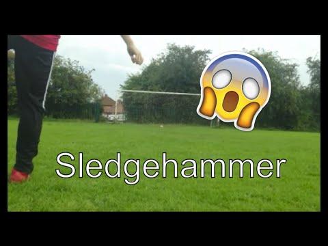 Sledgehammer Tutorial | 3 Hit Crossbar In 1 | #1