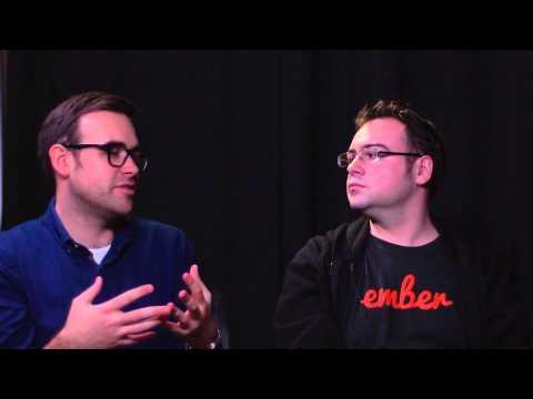 Yehuda Katz and Tom Dale (Tilde Inc.) interviewed at Fluent 2014