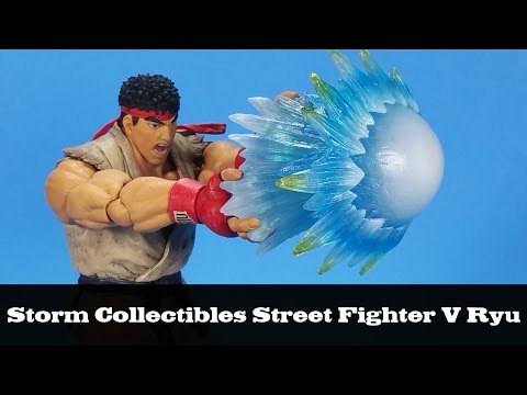 Storm Collectibles Street Fighter V Ryu Action Figure Review
