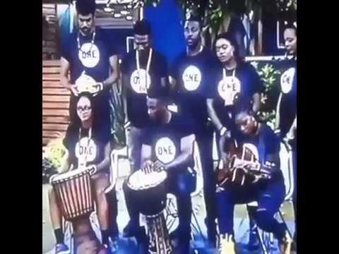 "BBN The housemates performs their ""ONE"" campaign song"