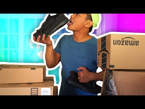 SOMEONE GAVE ME YEEZYS!?! | Opening Your Mail