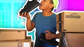 SOMEONE GAVE ME YEEZYS!?! | Opening Your Mail thumbnail
