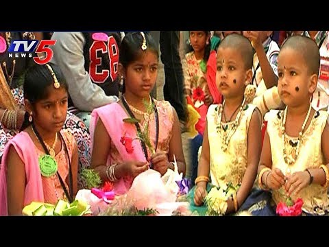 World Twins Day In Spring Dale Public School At Tirupati | TV5 News