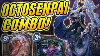 When Octosenpai uses his Tentacles | Octosari Warlock | Wild Hearthstone Saviors of Uldum
