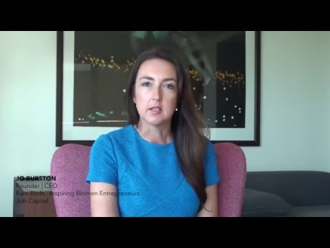 Rare Birds and Job Capital CEO Jo Burston talks about marketing in 2016. Are you in?