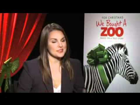 Elle Fanning  Colin Ford - We Bought a Zoo Interview