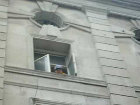 George At The Windoww