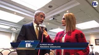 Rayn Anciani con Alfredo Keller en Bruselas: La corrupción en Vzla es gigantesca -EVTV 09/27/18