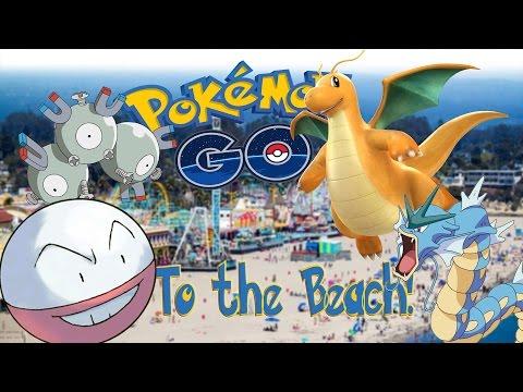 TO THE BEACH! Pokemon Go Adventures #9