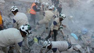 أخبار عربية - 69 قتيلا من الدفاع المدني السوري بالنصف الأول من 2017