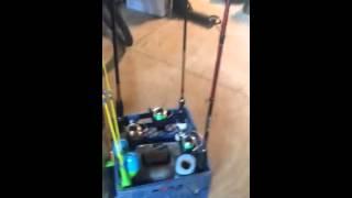 Fishing Rod Rack