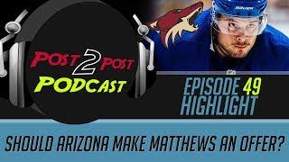 Should Arizona Make Matthews an Offer? - P2P Podcast #49 Highlight