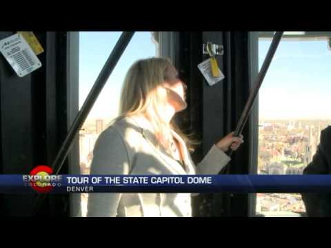 Explore Colorado   Tour of the State Capitol Dome