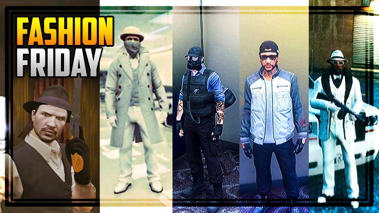 GTA 5 FASHION FRIDAY! 14 NEW OUTFITS! (John Marston Mr Clean Ice Mobster u0026 MORE) - YouTube