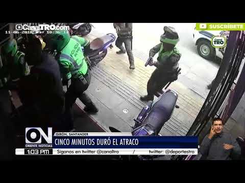 Policía logra impedir un robo en un casino de Girón