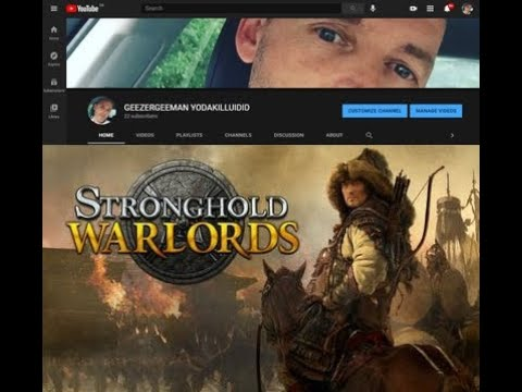 Stronghold Warlords Starting A new game Noob Me |