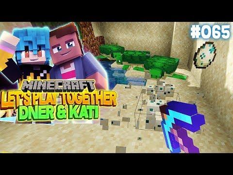 BABY SCHILDKRÖTEN FÜR UNSER AQUARIUM | Minecraft mit Kati & Dner #65