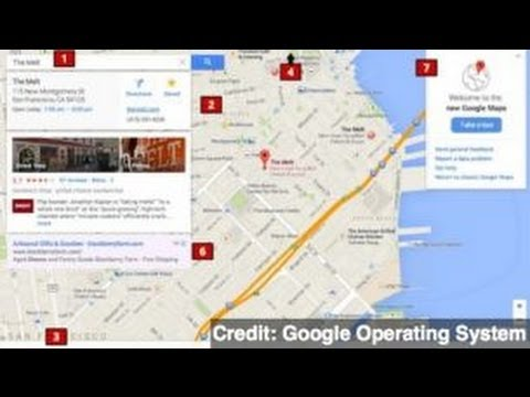 Google Maps Redesign in Cards?