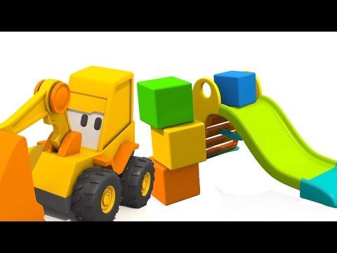 Мультфильм про Большие Рабочие Машины: Веселая Карусель - мультик про Экскаватор Масю