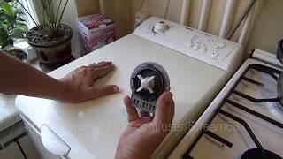 видео Ремонт и замена насоса стиральной машины или как поменять помпу