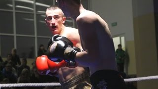 Adrian Dann (Arrachion Mr±gowo) - Rafa³ Marzewski (Fight Academy Ostro³êka)