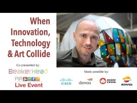 Virtual Speakerhead - When Innovation, Technology and Art Collide