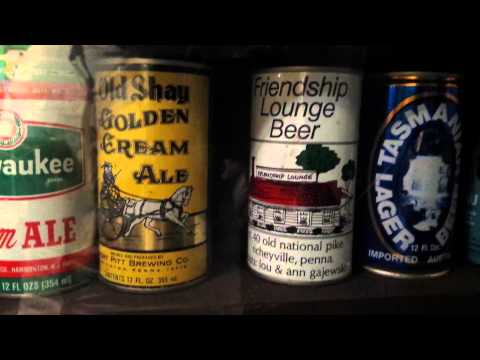 Amazing Vintage Beer Can Collection -Washington DC