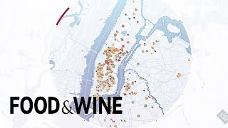 This Live Instagram Food Map of NYC Is Totally Mesmerizing | Food & Wine
