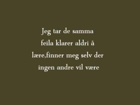 norsk tekst