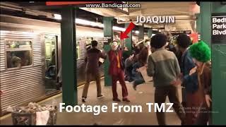The Joker (2019) New Footage of Joaquin Phoenix in Joker look | The Joker Ambushes Railway Station |