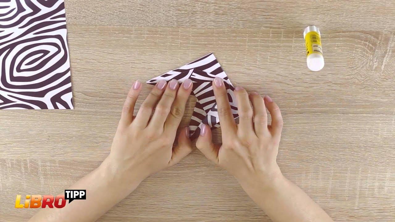 libro tipp funny zebra origami selbst gemacht diy