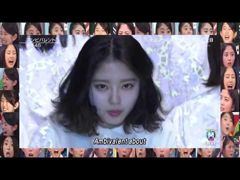 Keyakizaka46 - Ambivalent(Suzumoto Miyu Focus)