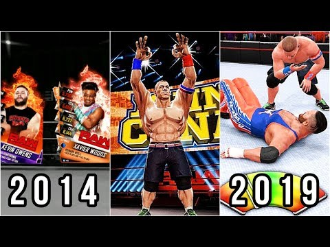 Evolution Of Android/iOS WWE Games 2014-2019