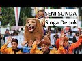Kesenian Sunda Subang Sisingaan Singa Depok Mijah Sesudah Mengelilingi Kampung