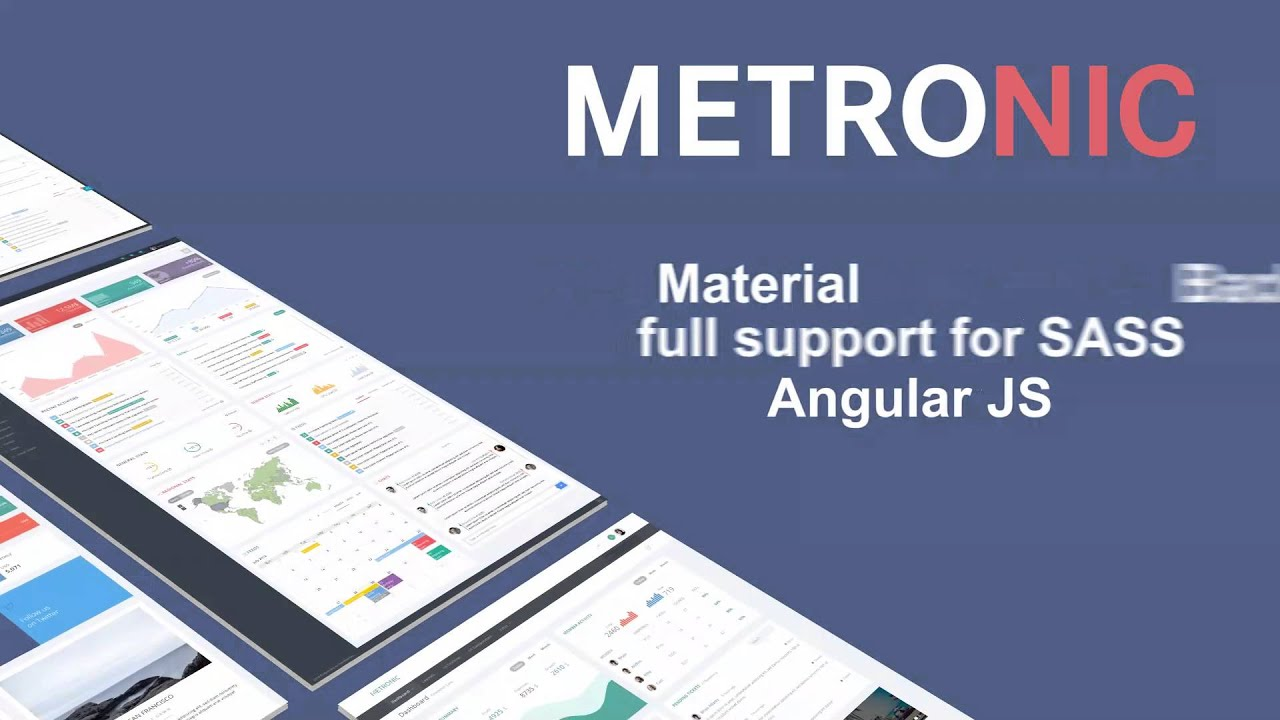 Metronic - #1 Selling Multi-purpose Bootstrap Based Admin Theme