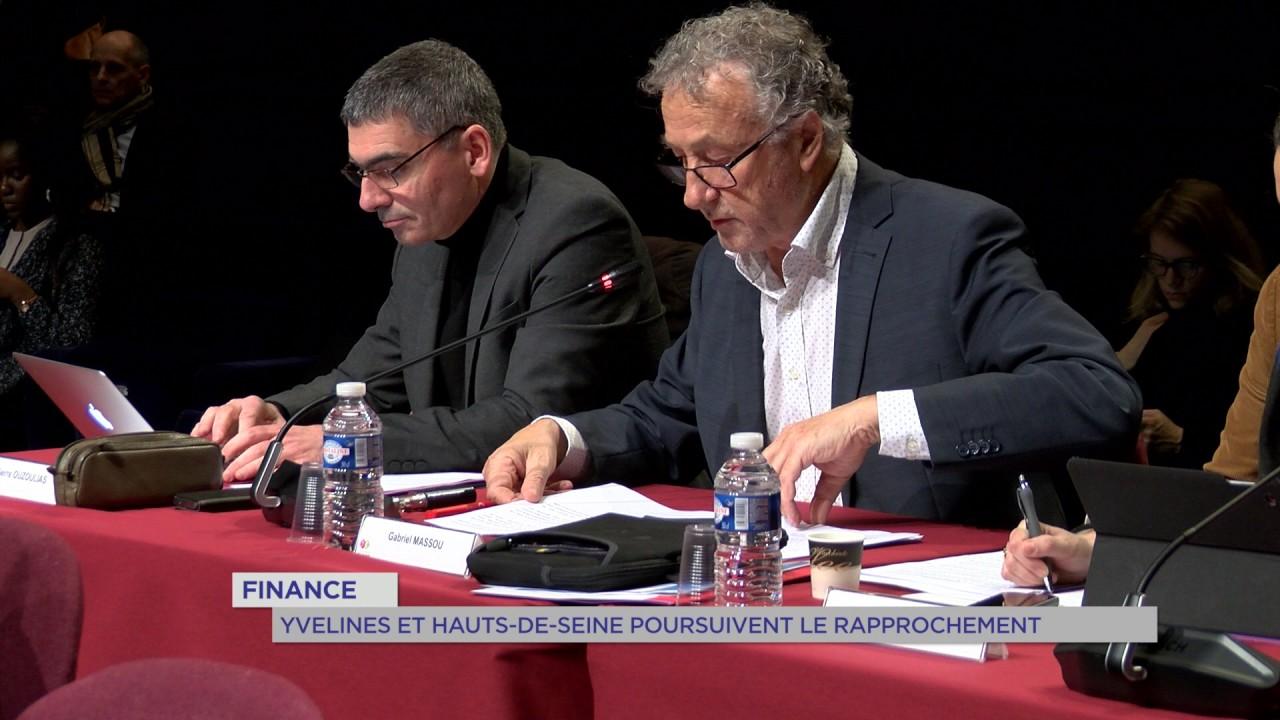 Finance : Yvelines et Hauts-de-Seine poursuivent le rapprochement